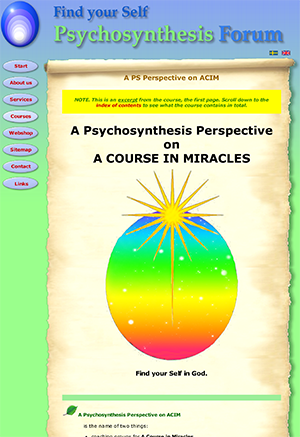 A PS Persp on ACIM